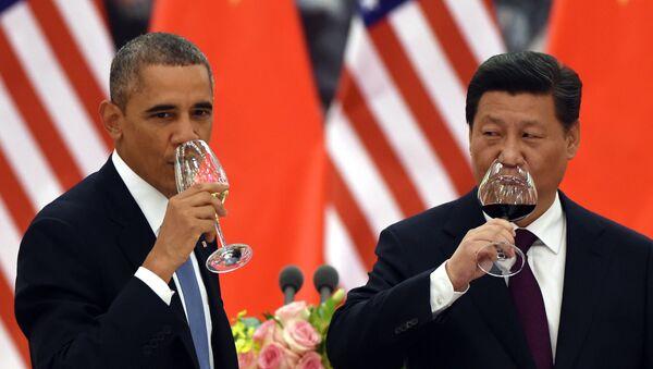 Barack Obama và Tập Cận Bình - Sputnik Việt Nam