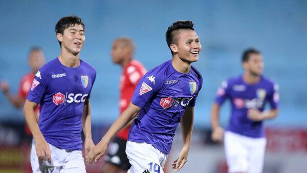 Duy Mạnh và Quang Hải trở thành tương lai của Hà Nội FC. - Sputnik Việt Nam