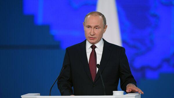 Thông điệp của Tổng thống V.Putin gửi Quốc hội LB Nga - Sputnik Việt Nam
