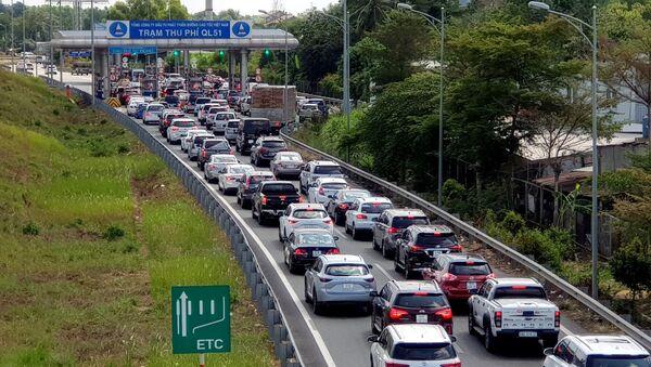 Đường dẫn cao tốc TP.HCM-Long Thành - Sputnik Việt Nam