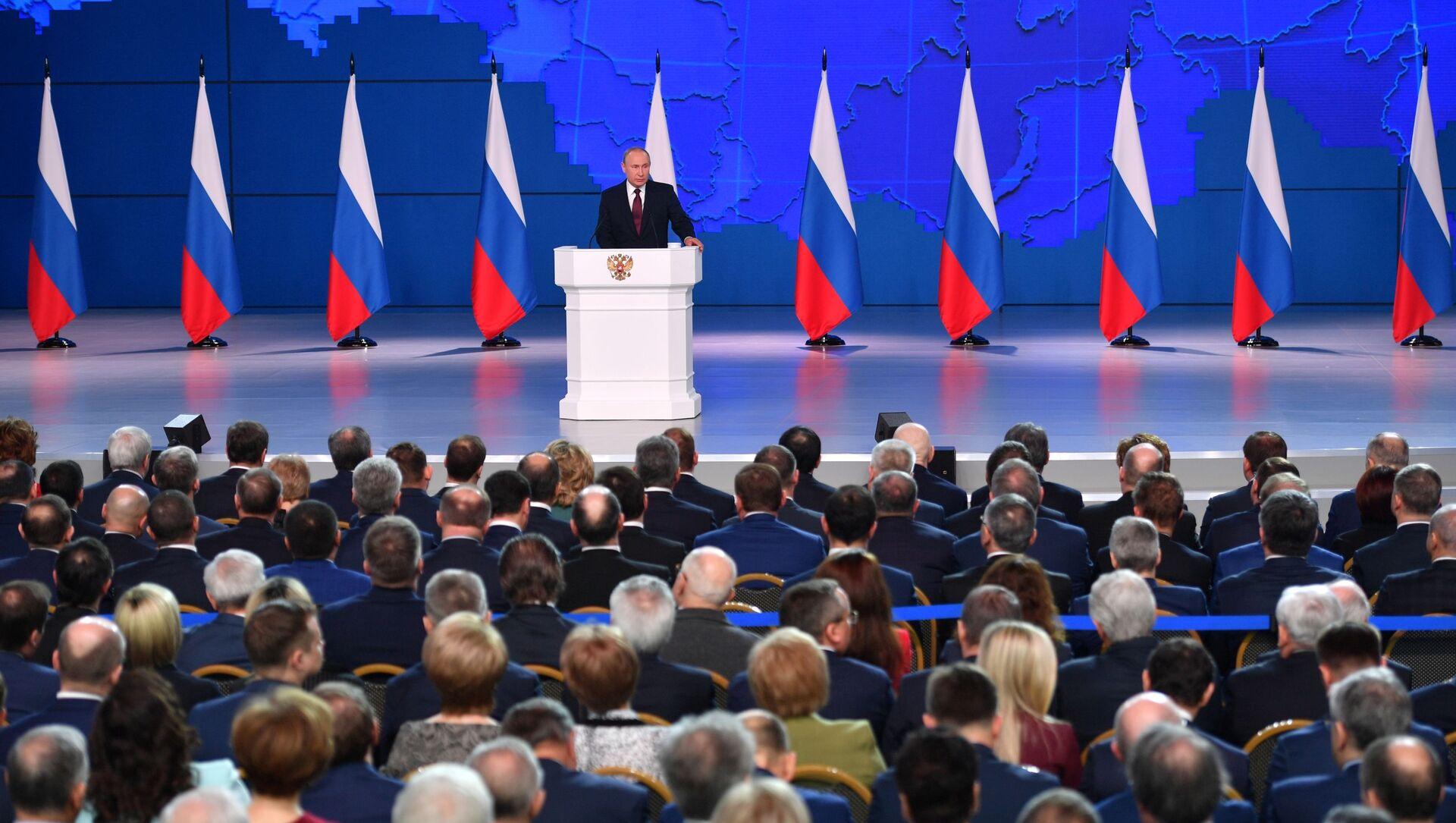 Thông điệp của Tổng thống V.Putin gửi Quốc hội LB Nga - Sputnik Việt Nam, 1920, 05.04.2021