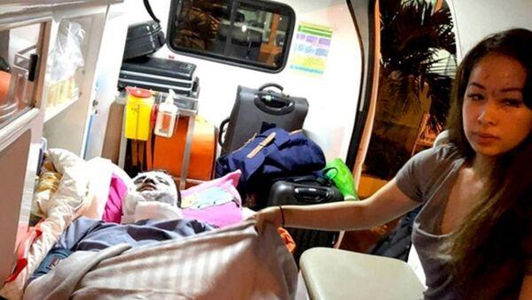 Hai Việt kiều Canada, nạn nhân trong vụ tạt axit mùng 5 Tết ở huyện Bình Sơn (Quảng Ngãi) - Sputnik Việt Nam