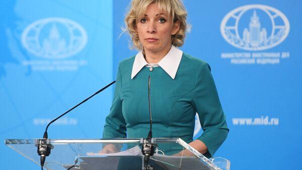 Maria Zakharova - Sputnik Việt Nam