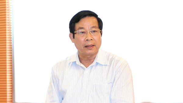 Nguyên Bộ trưởng Bộ Thông tin và Truyền thông Nguyễn Bắc Son. - Sputnik Việt Nam