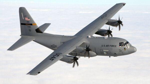Máy bay vận tải C-130J của Không lực Mỹ - Sputnik Việt Nam