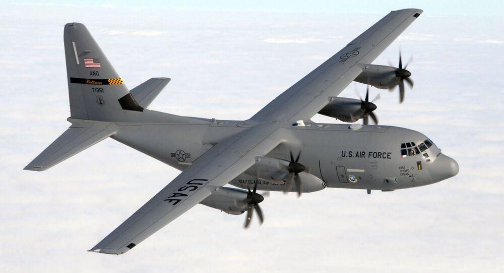 Máy bay vận tải C-130J của Không lực Mỹ