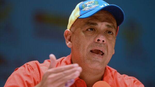 Bộ trưởng Thông tin và Truyền thông Venezuela, ông Jorge Rodriguez - Sputnik Việt Nam