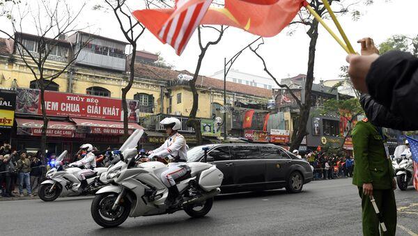 Tiếp đón Chủ tịch Kim Jong-un tại Hà Nội - Sputnik Việt Nam