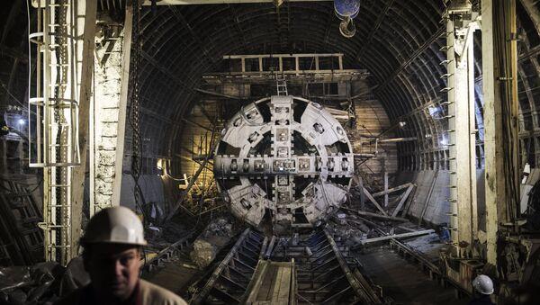 đường hầm tàu điện ngầm - Sputnik Việt Nam