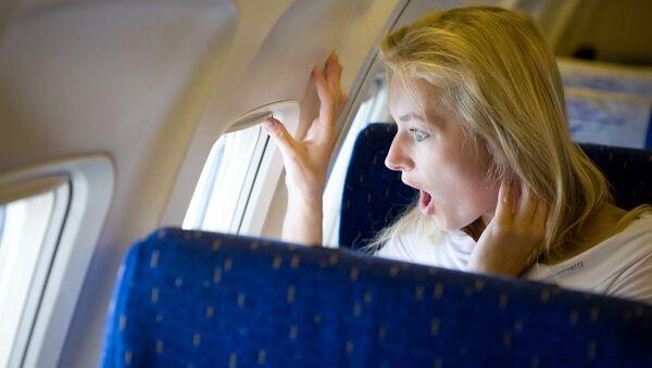 người phụ nữ đi máy bay - Sputnik Việt Nam
