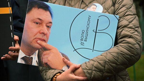 Người đứng đầu cổng thông tin RIA Novosti Ukraina Kirill Vyshinski - Sputnik Việt Nam