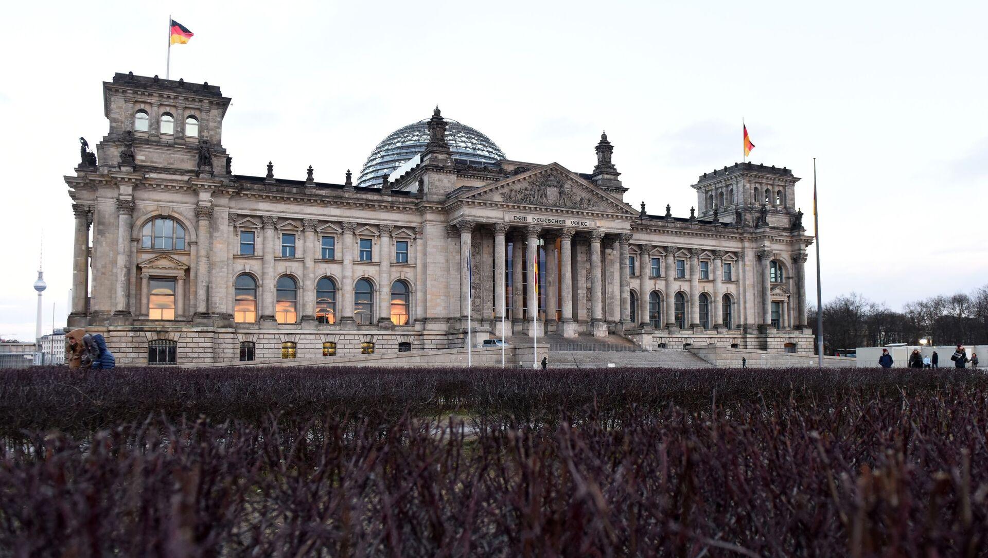 Tòa nhà Bundestag (Quốc hội) ở Berlin. - Sputnik Việt Nam, 1920, 27.09.2021