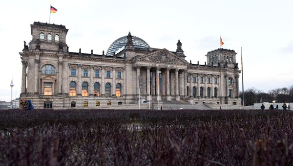 Tòa nhà Bundestag (Quốc hội) ở Berlin. - Sputnik Việt Nam