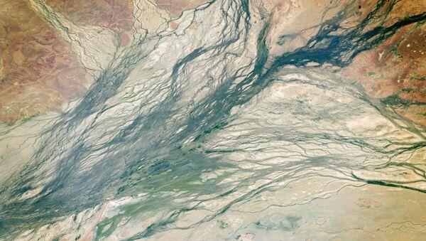 Hệ thống kênh ở Queensland, Australia nhìn từ vũ trụ  - Sputnik Việt Nam