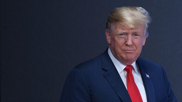 Tổnh thống Mỹ Donald Trump - Sputnik Việt Nam