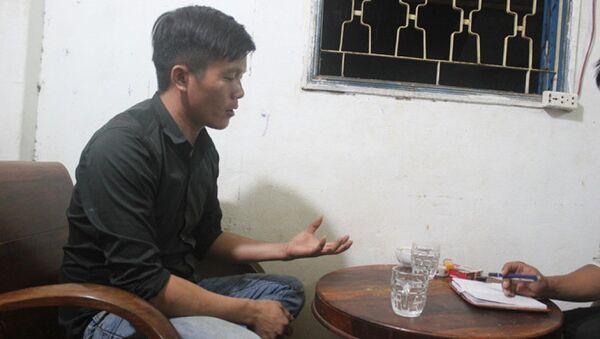 Anh Nguyễn Ngọc Dũng vẫn khẳng định việc cứu cháu bé của mình là vô tội - Sputnik Việt Nam