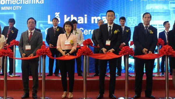 Triển lãm thương mại ngành công nghiệp dịch vụ ô tô Việt Nam 2019 đang diễn ra tại TP.HCM - Sputnik Việt Nam