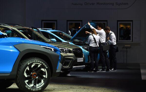 Gian hàng công ty Subaru tại Triển lãm ô tô quốc tế Geneva 2019 - Sputnik Việt Nam