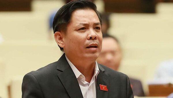 Bộ trưởng Bộ Giao thông vận tải Nguyễn Văn Thể - Sputnik Việt Nam