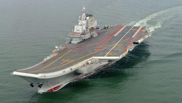 Tàu sân bay Trung Quốc Liêu Ninh - Sputnik Việt Nam