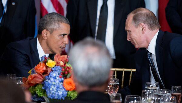 Barack Obama và Vladimir Putin - Sputnik Việt Nam