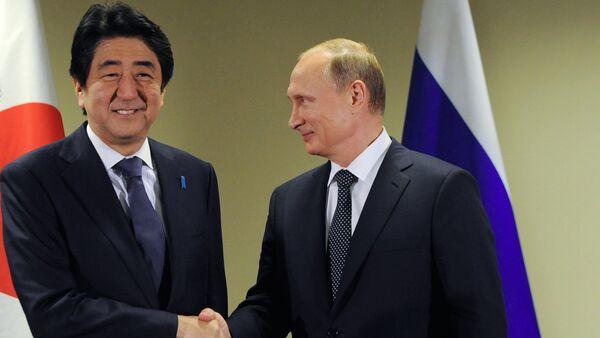 Shinzo Abe và Vladimir Putin - Sputnik Việt Nam