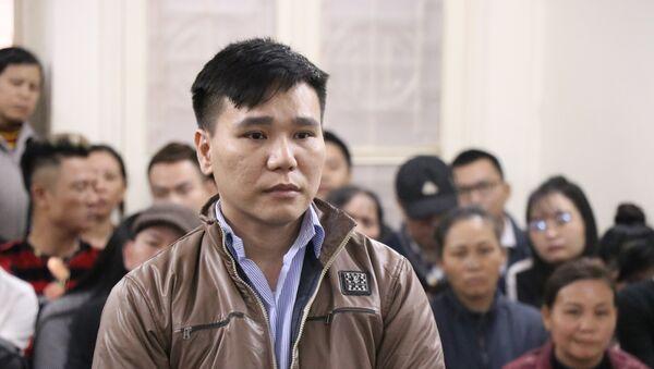Bị cáo Châu Việt Cường khai báo trước Tòa. - Sputnik Việt Nam