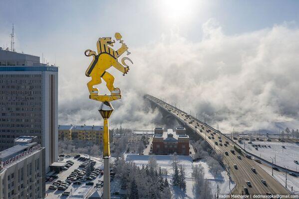 Quang cảnh mùa đông Krasnoyarsk - Sputnik Việt Nam
