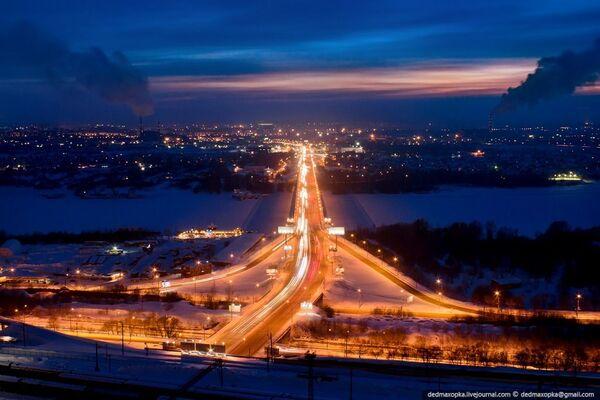 Quang cảnh Novosibirsk ban đêm - Sputnik Việt Nam