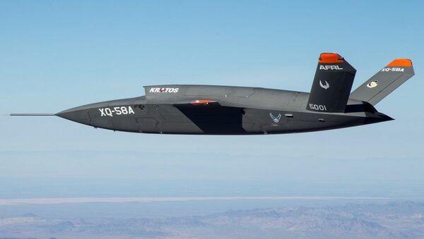 Máy bay không người lái tàng hình hạng nặng mới Kratos XQ-58 Valkyrie - Sputnik Việt Nam