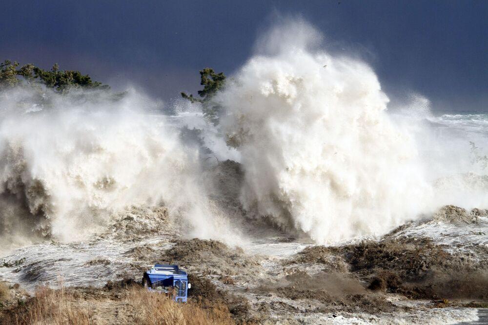 Sóng thần ở tỉnh Fukushima, Nhật Bản, 2011