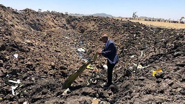 Phi công quân sự về nguyên nhân dẫn đến vụ rơi máy bay ở Ethiopia - Sputnik Việt Nam