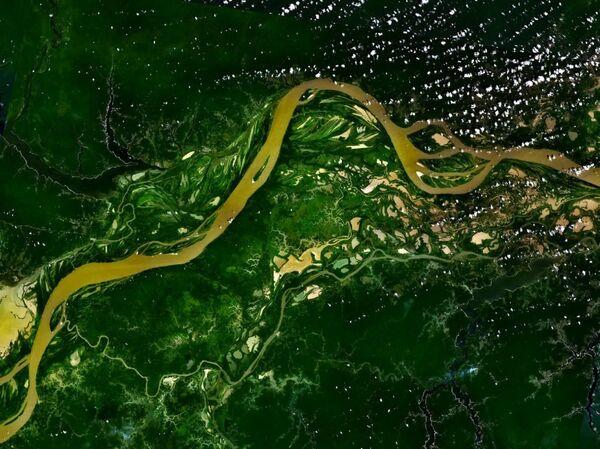 Sông Amazon, chụp từ vũ trụ - Sputnik Việt Nam
