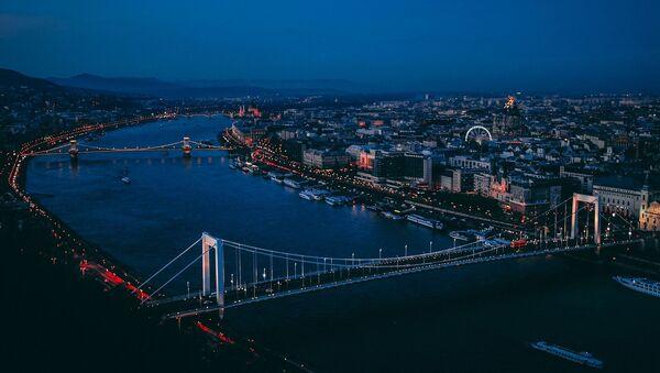 Sông Danube ở Budapest, Hungary - Sputnik Việt Nam