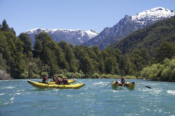 Sông Futaleufu ở Chile - Sputnik Việt Nam
