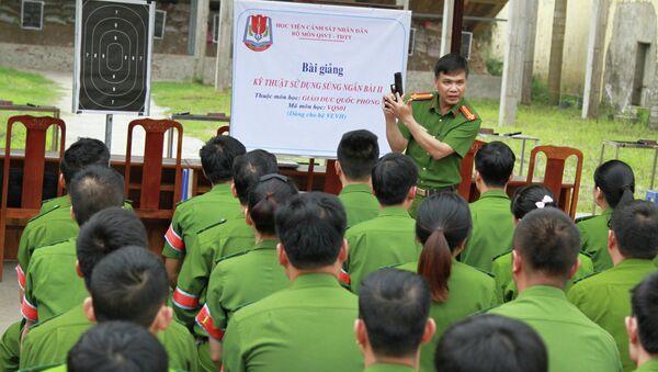 Học viên cảnh sát học bắn súng - Sputnik Việt Nam