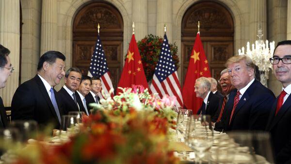 Donald Trump và Tập Cận Bình - Sputnik Việt Nam