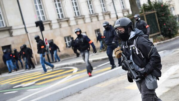 Cảnh sát Pháp - Sputnik Việt Nam