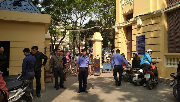 Sở Kế hoạch - đầu tư Hải Phòng bị gây rối - Sputnik Việt Nam