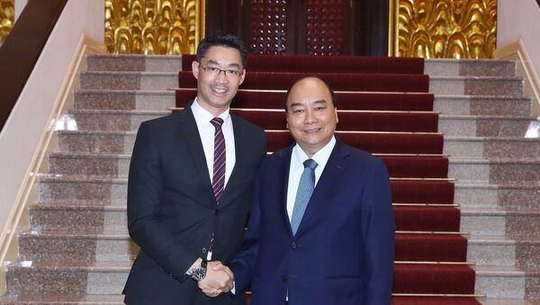 Thủ tướng Nguyễn Xuân Phúc tiếp chuyên gia kinh tế Philipp Rösler - Sputnik Việt Nam