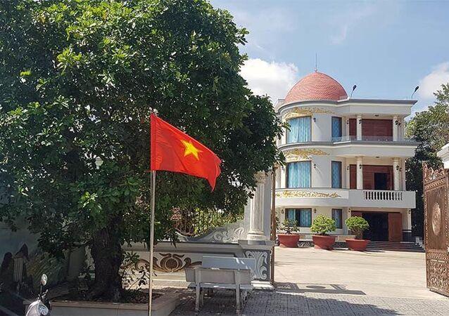 Ngôi nhà của Thiếu tướng Lê Minh Tuấn - nguyên Phó Tư lệnh Quân khu 9.