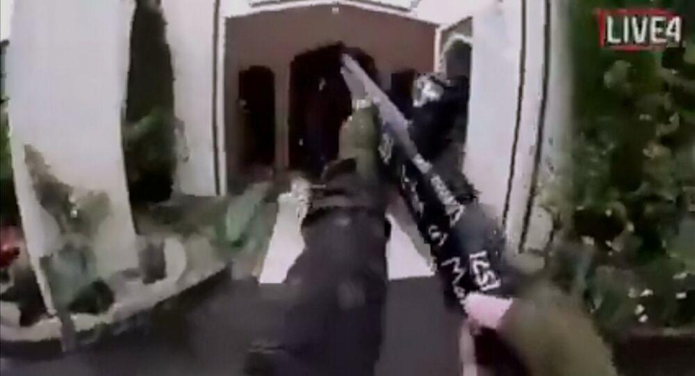 video về vụ tấn công khủng bố ở New Zealand