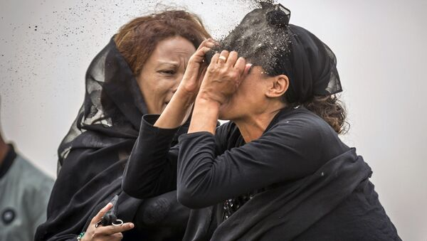 Thân nhân vụ Ethiopian Airlines - Sputnik Việt Nam