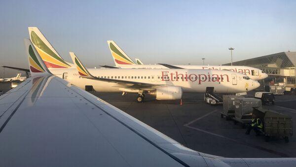 Самолет авиакомпании Ethiopian Airlines  - Sputnik Việt Nam