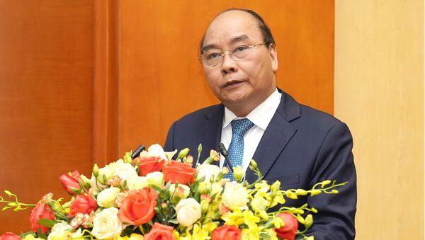 Thủ tướng phát biểu tại Hội nghị - Sputnik Việt Nam