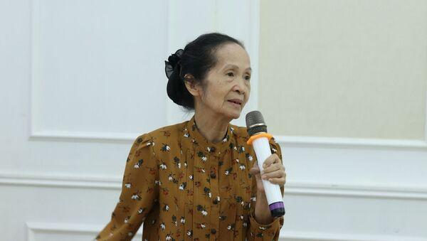 Bà Phạm Chi Lan, nguyên thành viên Ban Nghiên cứu của nguyên Thủ tướng Phan Văn Khải. - Sputnik Việt Nam