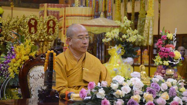 Đại đức Thích Trúc Thái Minh, trụ trì chùa Ba Vàng - Sputnik Việt Nam