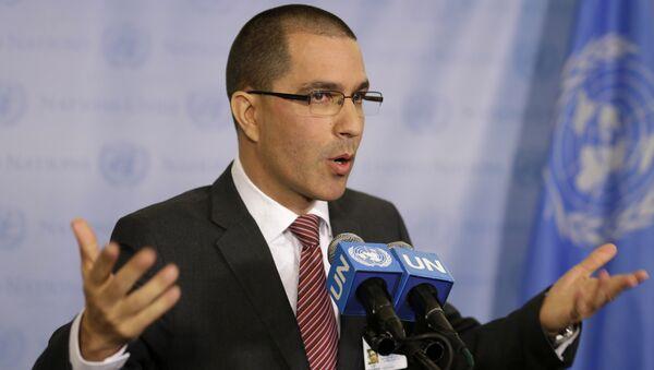 Ngoại trưởng Venezuela, ông Jorge Arreaza - Sputnik Việt Nam