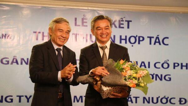 Ông Phạm Văn Thông (bên trái ảnh) - Sputnik Việt Nam