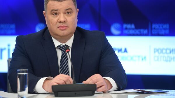 Cựu sĩ quan an ninh Ukraina ông Vasily Prozorov - Sputnik Việt Nam